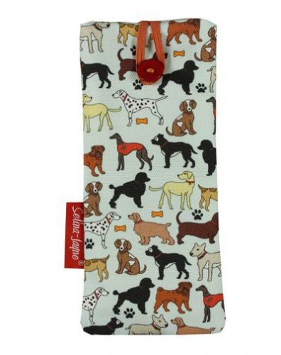 Selina-Jayne Dogs Limited Edition Designer Soft Glasses Case